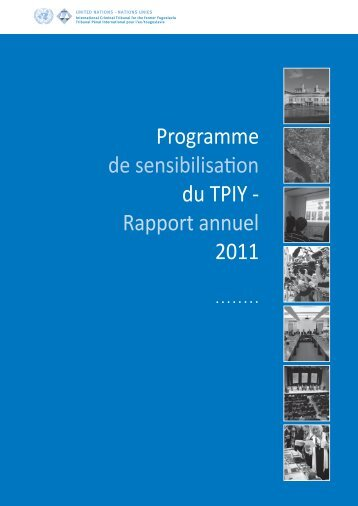 Rapport annuel 2011 - ICTY