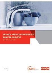 Badarmaturen - Franke