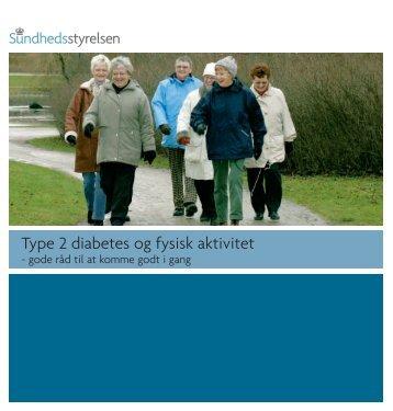 Type 2 diabetes og fysisk aktivitet - Sundhedsstyrelsen