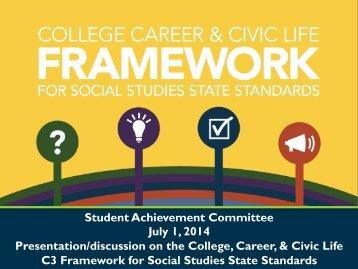 07012014_SAC_C3 Framework for Social Studies-PP
