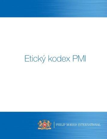 Etický kodex PMI - Philip Morris