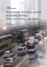 Roadside air pollution in Hong Kong: Why is it still ... - Civic Exchange