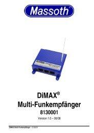 DiMAX® Multi-Funkempfänger 8130001 - Massoth Elektronik GmbH