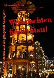 Weihnachten findet statt! - Evangelischer Kirchenkreis Rudolstadt ...