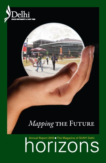 Mappingthe Future - SUNY Delhi