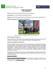 Study Tour Andalucia to Copenhagen, 15-18 April ... - RES-e-Regions