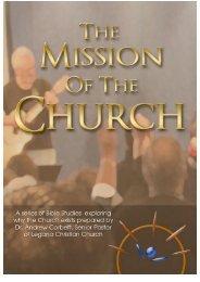 The Mission of the Church - Legana Christian Church