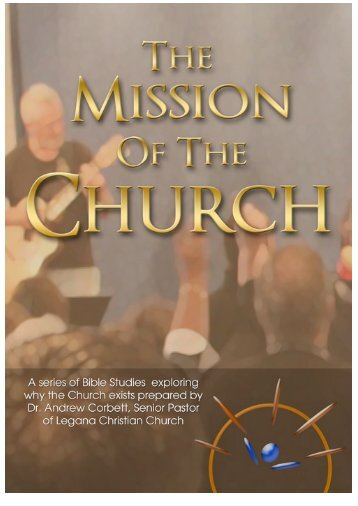 The Mission of the Church - Legana Christian Church