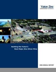 New Cover4.cdr - Yukon Zinc Corporation