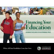 Financing Your - California State University, East Bay