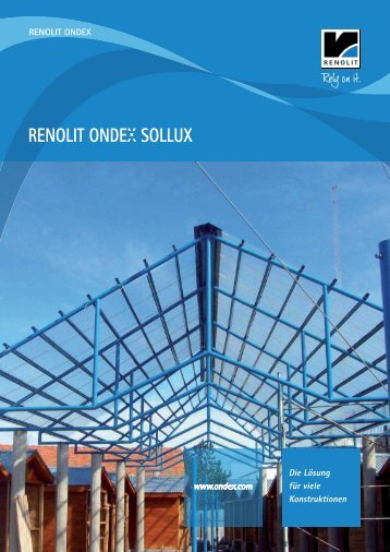 RENOLIT ONDEX SOLLUX - Catalogue - ondex