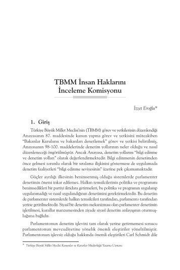 TBMM İnsan Haklarını İnceleme Komisyonu