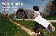 Flyer Ã'Â«FilmSpiele - Zentrum Paul Klee