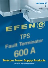 Telecom Power Supply Products - EuroVolt