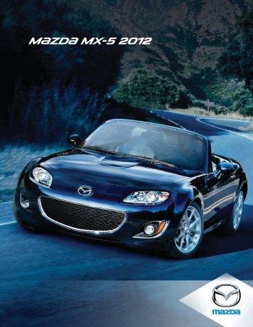 Brochure de la MX-5 2012 - Mazda Canada