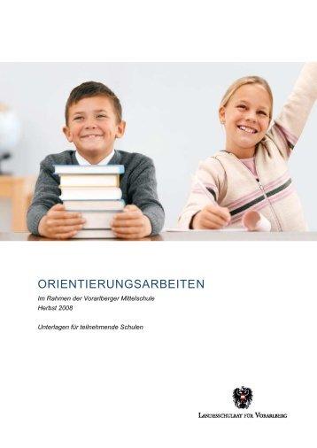 ORIENTIERUNGSARBEITEN - Bildung Leben