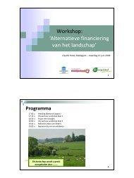 Presentatie Workshop 3 - Meetjesland.be