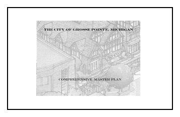 Village Future Development Scenario - City of Grosse Pointe