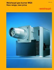 Download brochure 595 KB (pdf) - Weishaupt