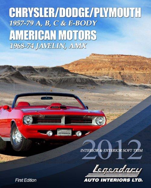 71 72 73 74 Dodge Charger Window crank screws PAIR NEW