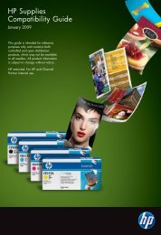 What's New - HP IPG Products