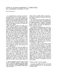 IPOTESI DI ANALISI PLANIMETRICA E COMBINATORIA DELLA ...