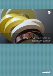 Isotape® Adhesive Tapes for Electrical Insulation - Von Roll