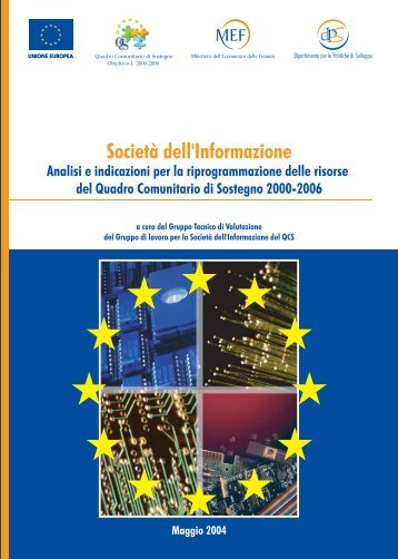 'Società dell'Informazione. Analisi e indicazioni per la - Dps - MEF