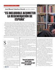 José Manuel Caballero Bonald, escritor y poeta - El Siglo