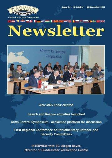 Newsletter #34 - RACVIAC