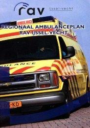 Regionaal Ambulance Plan Rav IJssel Vecht - Brouwer Onderzoek ...