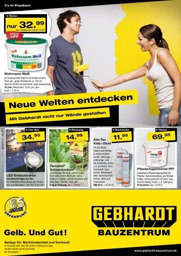 69. - Gebhardt Bauzentrum