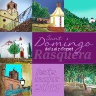 programa de festes - Ajuntament de Rasquera