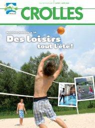 Juillet-août 2010 - Des loisirs tout l'été - Ville de Crolles