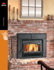 Wood Insert - Jøtul stoves and fireplaces