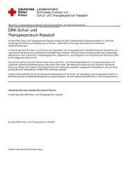 DRK-Schul- und Therapiezentrum Raisdorf
