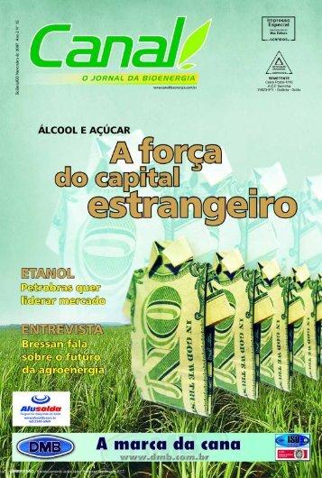 do editor - Canal : O jornal da bioenergia