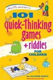 101 Quick-thinking Games + Riddles for Children
