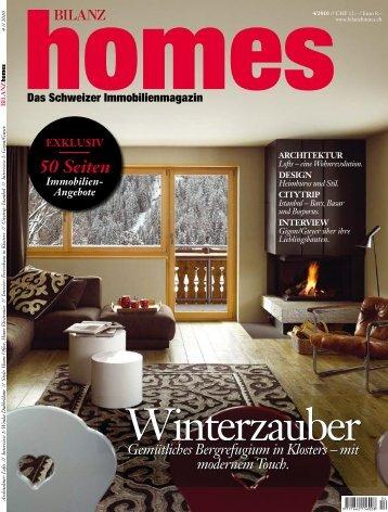 Download Homes 4/2010 (PDF) - BILANZ Homes