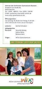 im Internat des Sorbischen Gymnasiums Bautzen - WITAJ ... - Seite 4