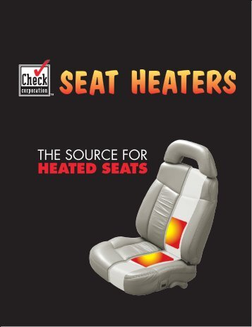 Seat Heater Brochure.indd - Check Corporation