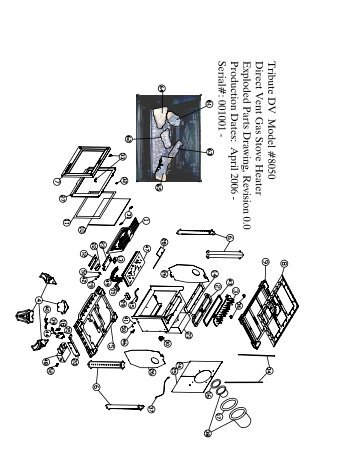 Homestead 8570 Parts Diagram - Hearthstone Stoves