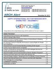 ARCH Alert - Dec 03 12 - pdf - Your Legal Rights