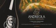 Scarica l'invito in pdf - Andreola