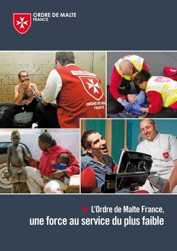 Odre de Malte France - Plaquette institutionnelle - Capgeris