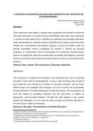 Maria Marcia Silva dos Santos Sousa - Faculdade Adventista da Bahia
