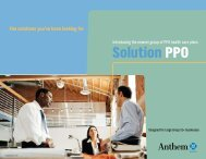 Solution PPO Solution PPO - Beere & Purves