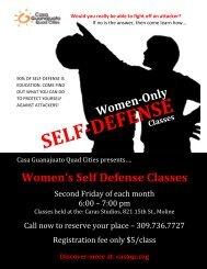 Women's Self Defense Classes - Center for Adoption Studies