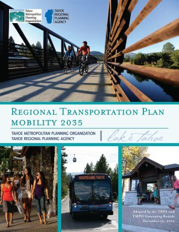 Cover, Table of Contents, and Glossary - Tahoe Metropolitan ...