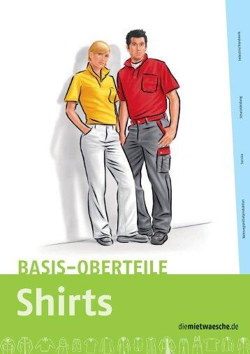 Basis-Oberteile Shirts - diemietwaesche.de